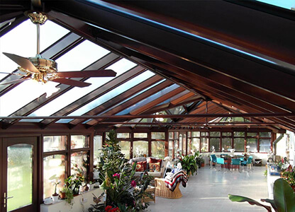 A conservatory manufactured by Dempsey Dyer