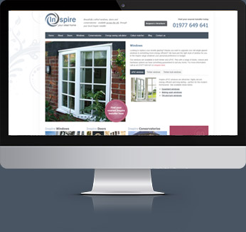 Inspire range website