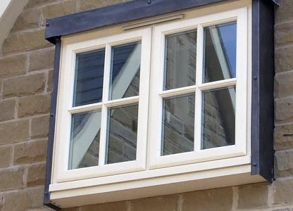 One of our timber stormproof windows