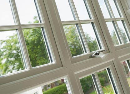One of our timberlook flush sash windows
