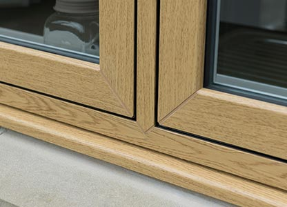 One of our UPVC flush sash windows