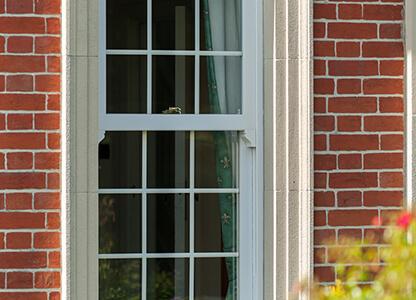 One of our UPVC mock sliding sash windows