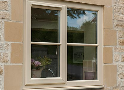 One of our UPVC stormproof windows