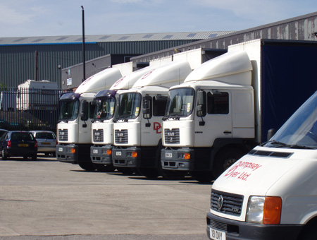 Dempsey Dyer delivery fleet