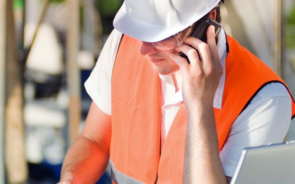 An installer on the phone to account manager