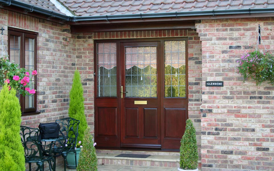 secure timber doors