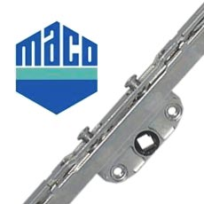 Maco security lock for uPVC tilt and turn windows
