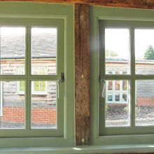 wooden windows for traditional homes