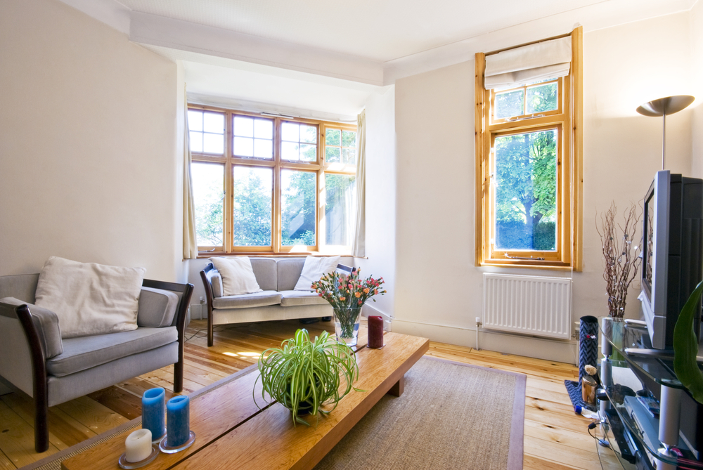 cleaning timber windows